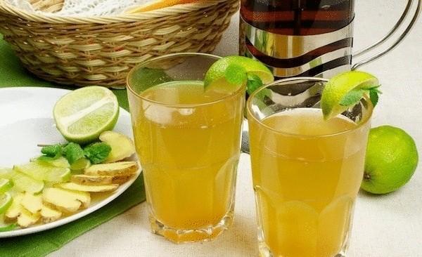 чай с имбирем для похудения в термосе