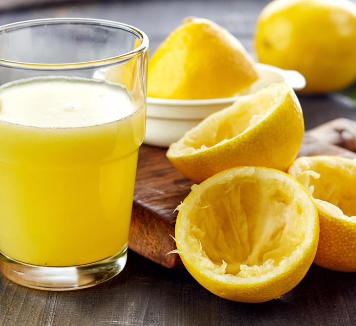Лимон для похудения меню