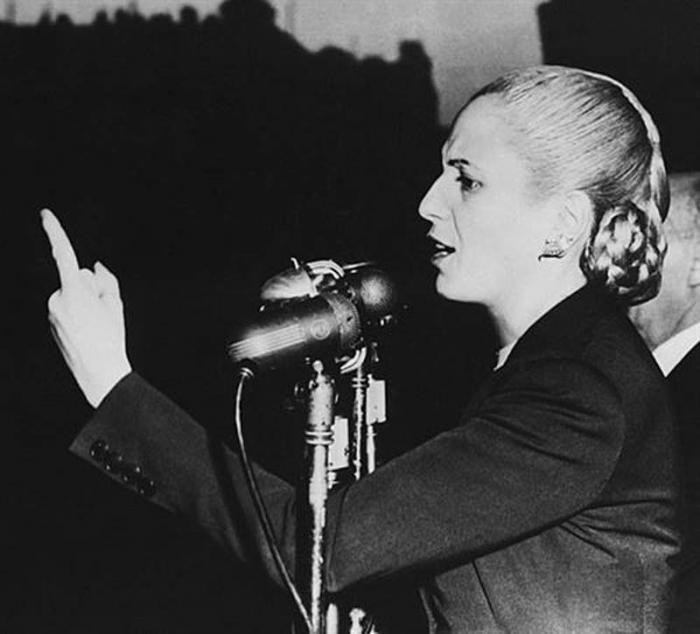 an overview of the story of eva peron an argentinian first lady