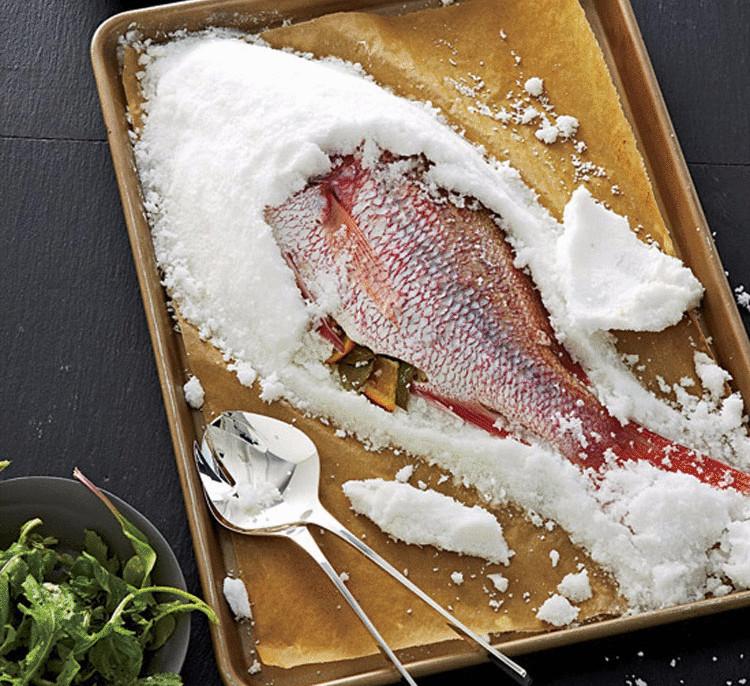 Рыба в соли в духовке рецепт лучший
