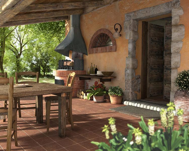 Строим летнюю кухню с верандой—идеи для усадьбы