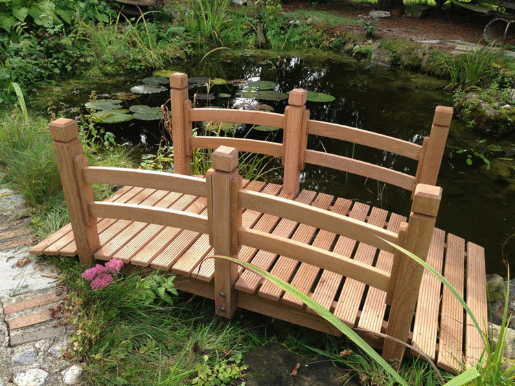 Как сделать деревянный мостик фото 416