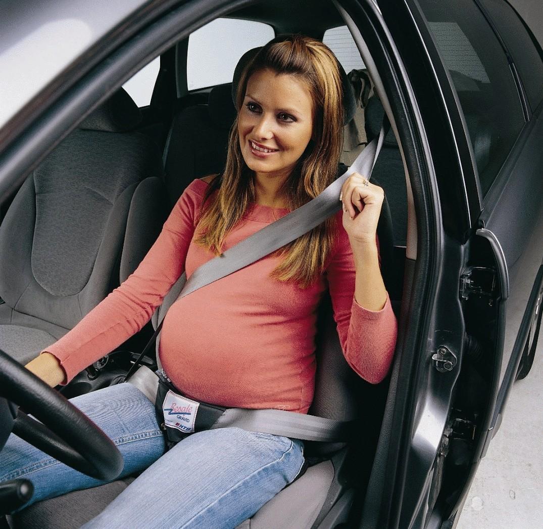 Беременная женщина-водитель может не
