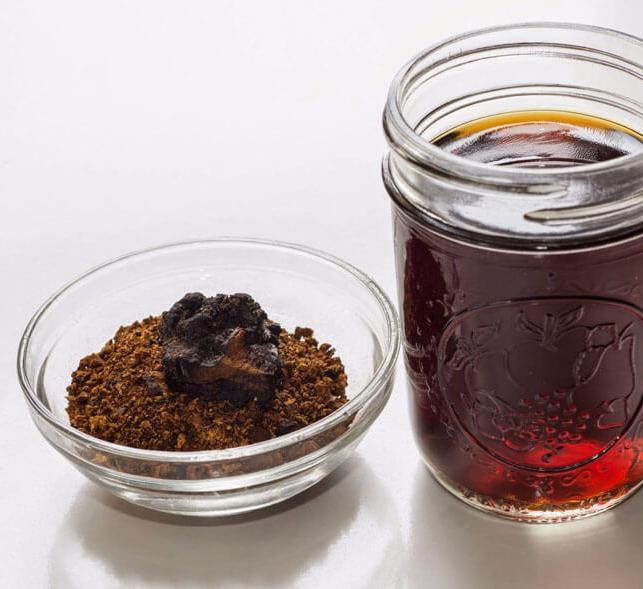 Настойка чаги: применение, рецепты, лечебные свойства
