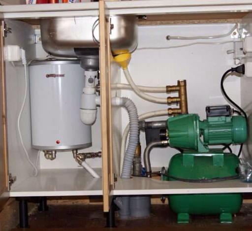 Насос повышающий давление в водопроводе на даче параметры выбор установка своими руками