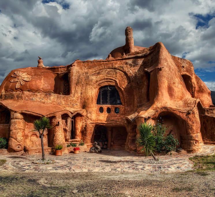 всё ещё картинки домов из глины готовом изделии