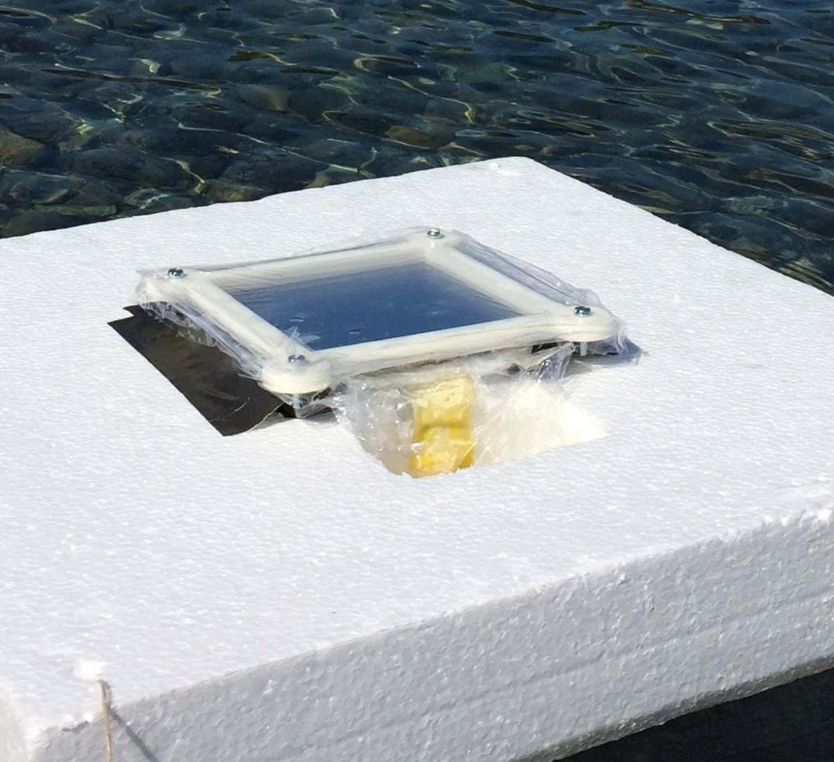 Опреснение воды с помощью солнечной энергии
