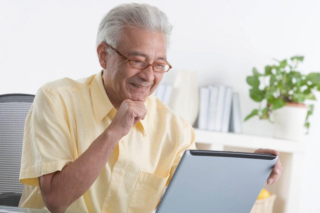 знакомства в интернете для пожилых