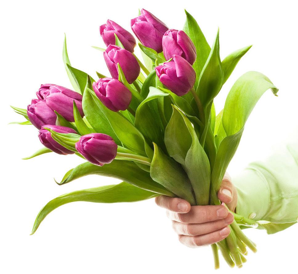 Бери цветы!