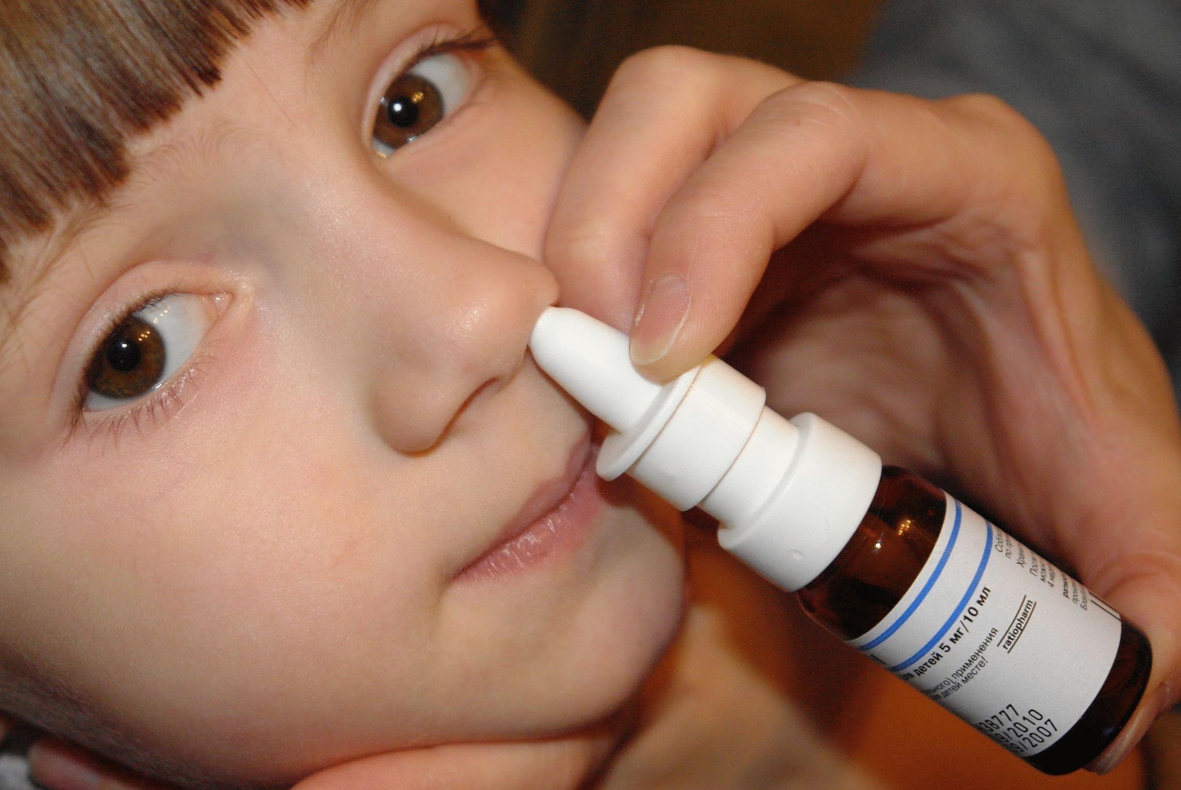 Как самому сделать пшикалку в нос