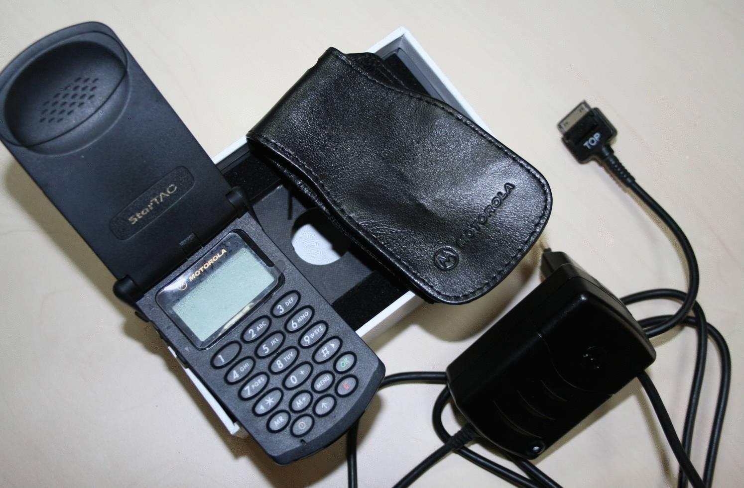 Какими были первые мобильные телефоны