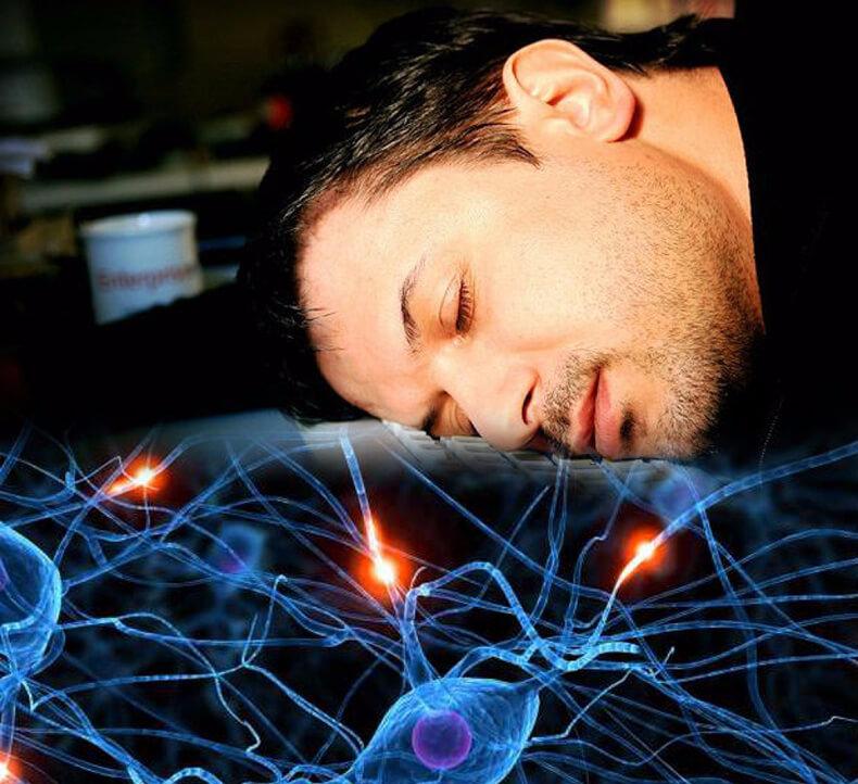 Картинка мозг ночью
