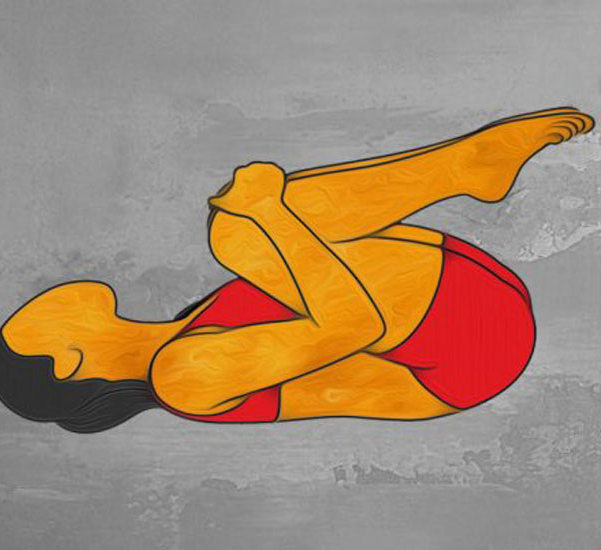 Упражнение качели для спины