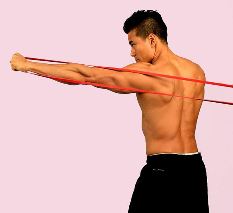 Упражнения с резинкой для укрепления мышц