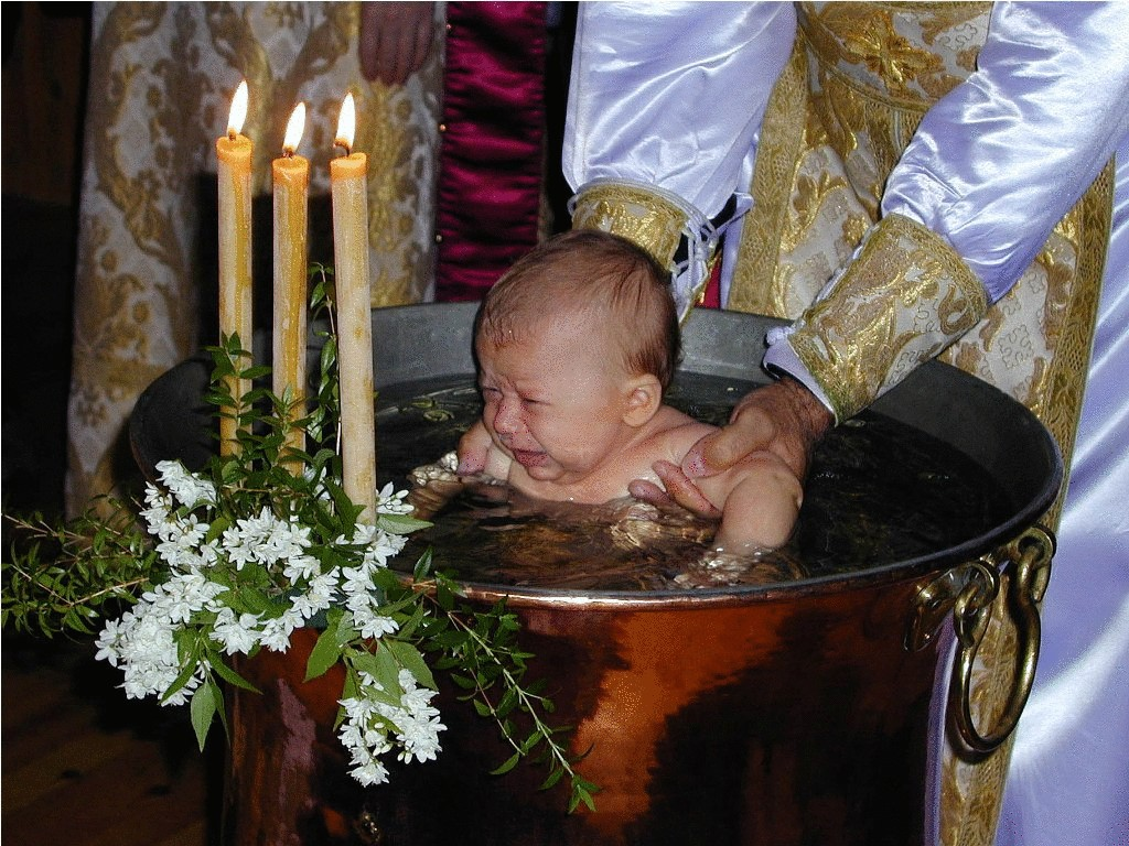 когда лучше крестить сына Мазин