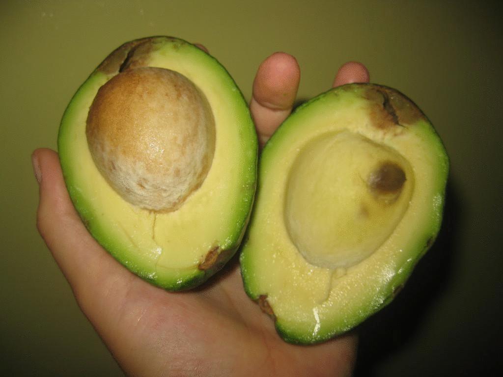 авокадо против жира на животе