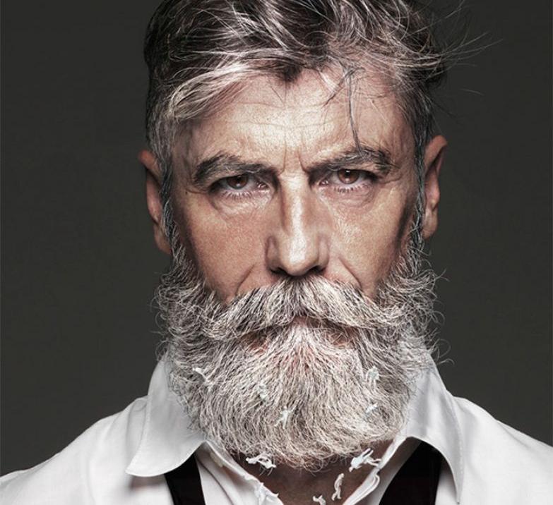 картинка старик с бородой сравнению