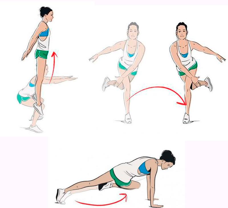 Методика Для Похудения Дома. Тренировки для похудения дома без прыжков и без инвентаря (для девушек): план на 3 дня