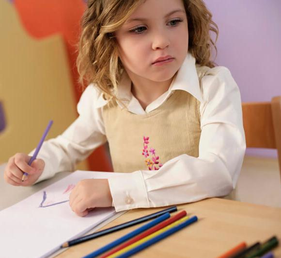 Что и как рисует младший школьник