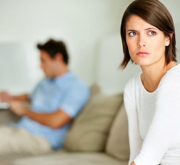 Как психологически надавить на мужа