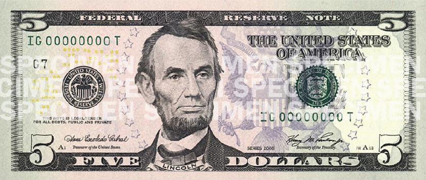 Распечатать денежные купюры доллары. Представлены новые банкноты ...