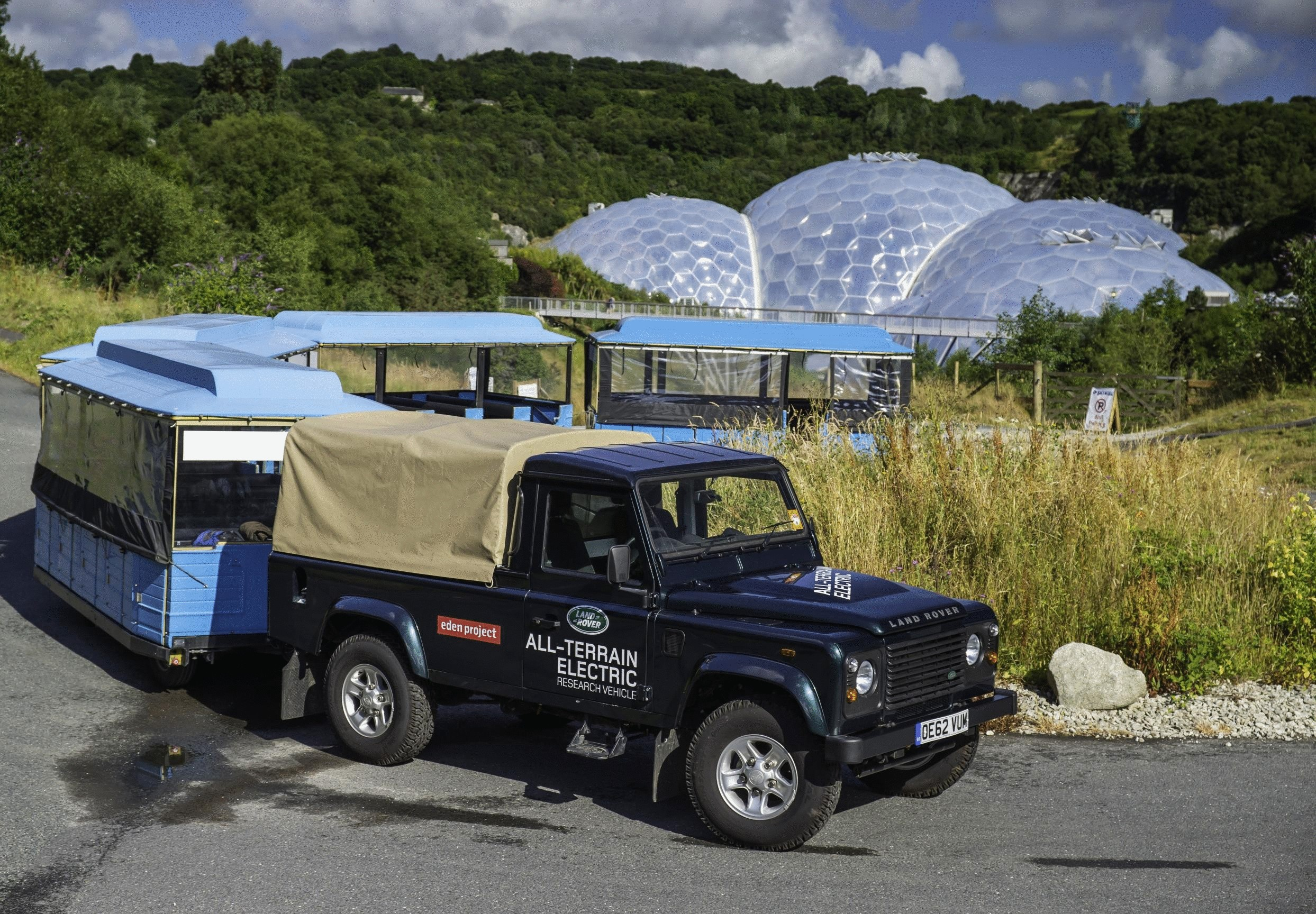Land Rover Defender Electric Research Vehicle