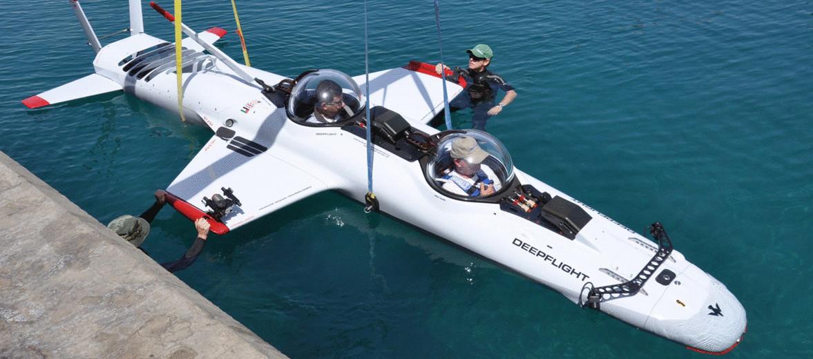 Создана первая персональная подводная лодка для отдыха