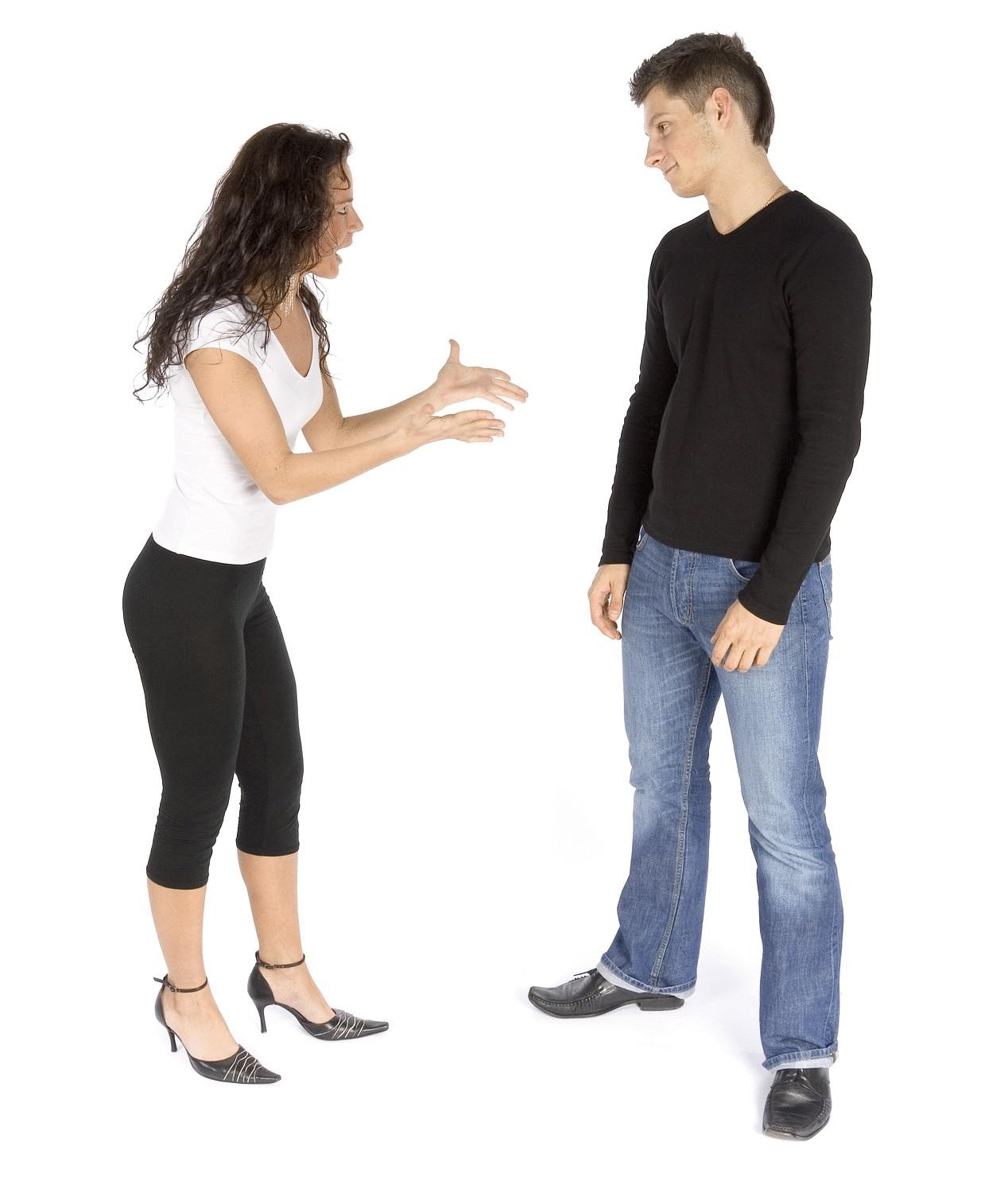 Искусство спора с женщинами