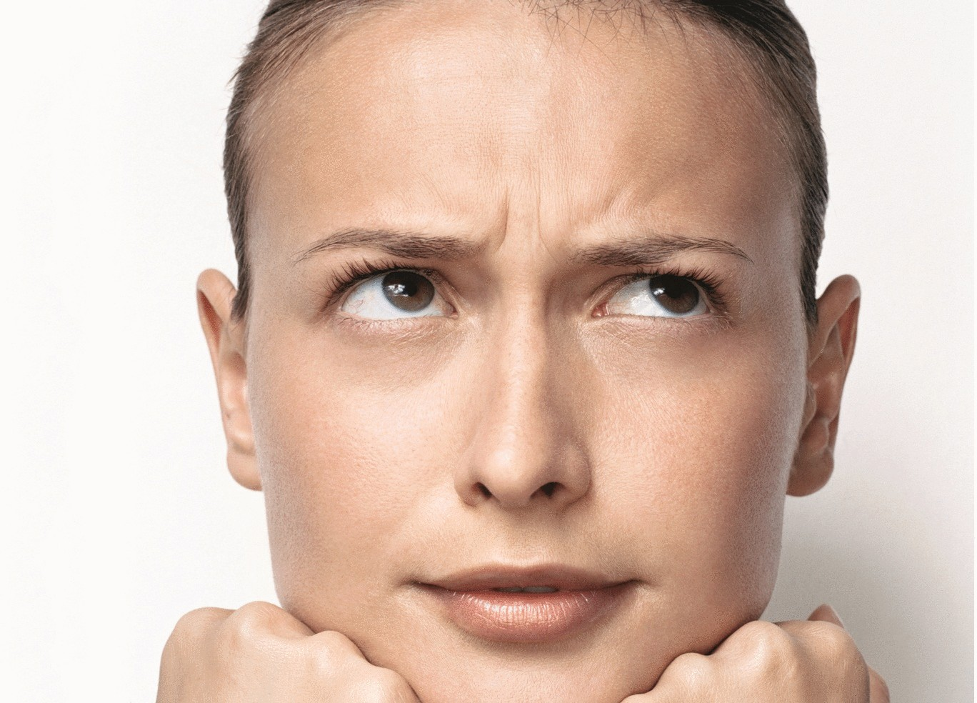 Гимнастика для разглаживания морщин на лице - YouTube