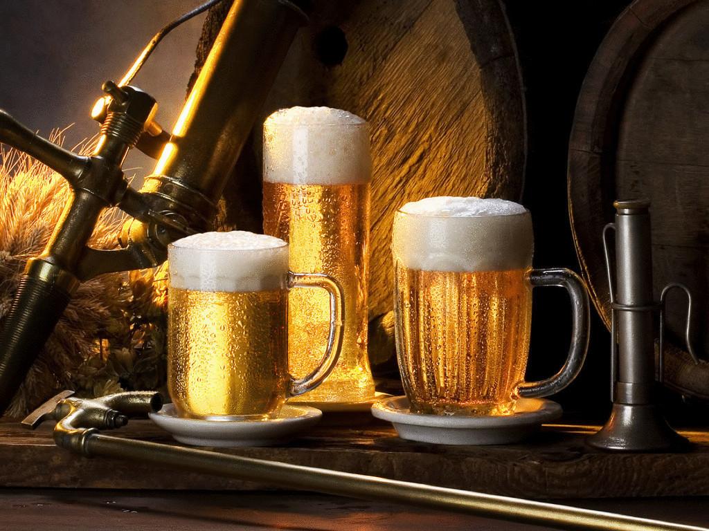 Beer treats skin and hair