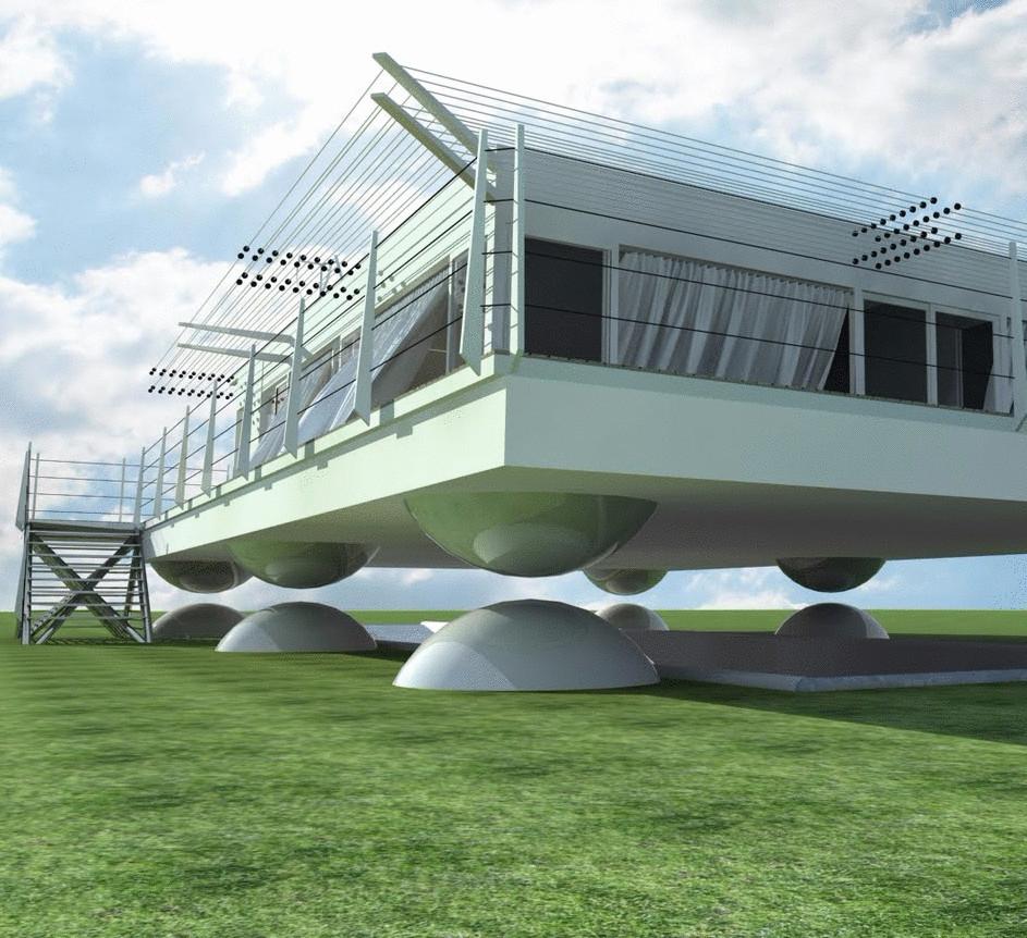 Седат Игдеджи - Японские архитекторы разработали дома на время землетрясений