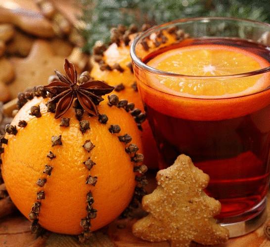 Апельсиновый декор к новому году видео урок