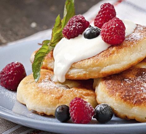 Оригинальные сырники от Олега Ильина - очень быстрый и вкусный завтрак
