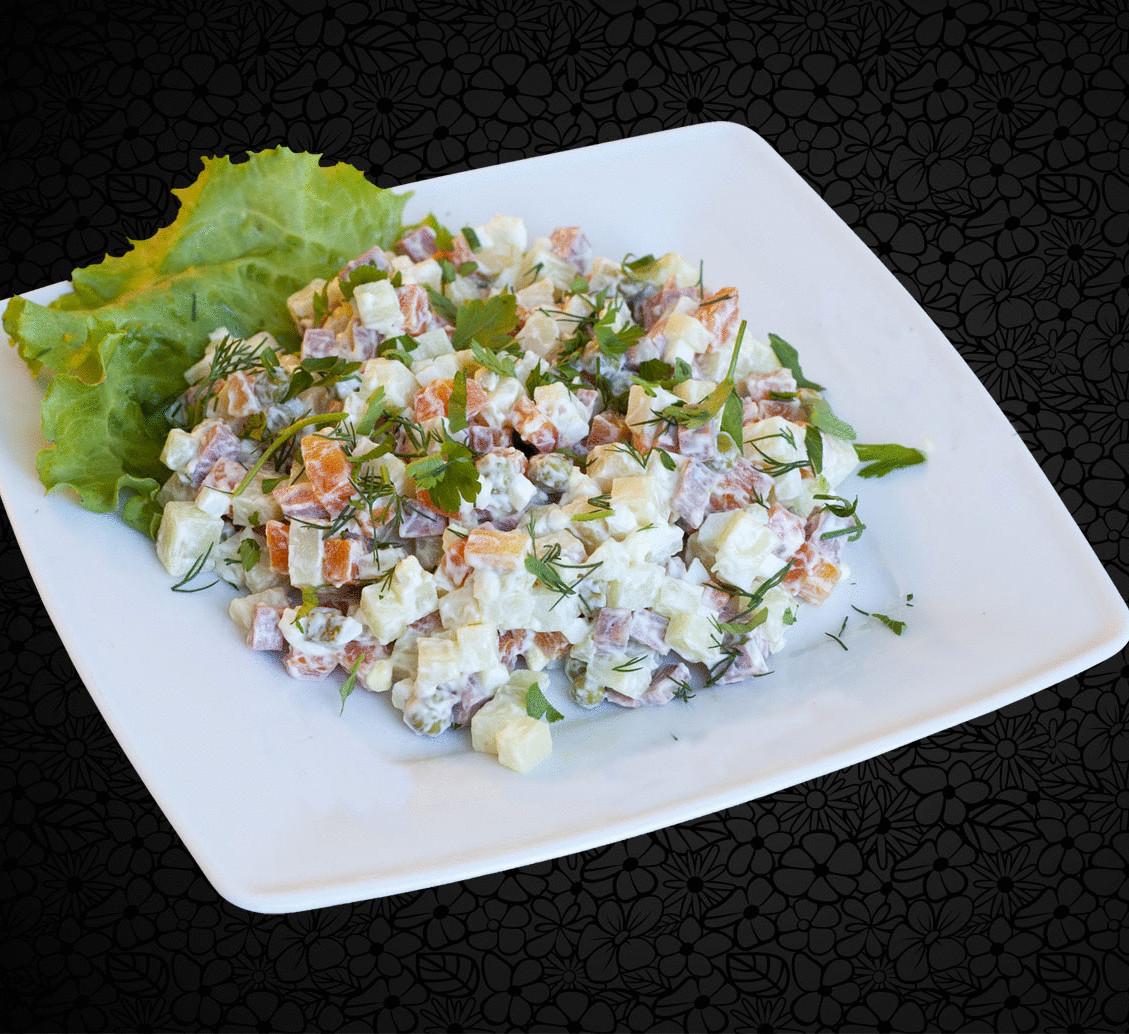 Крабовый салат на 30 человек пропорции
