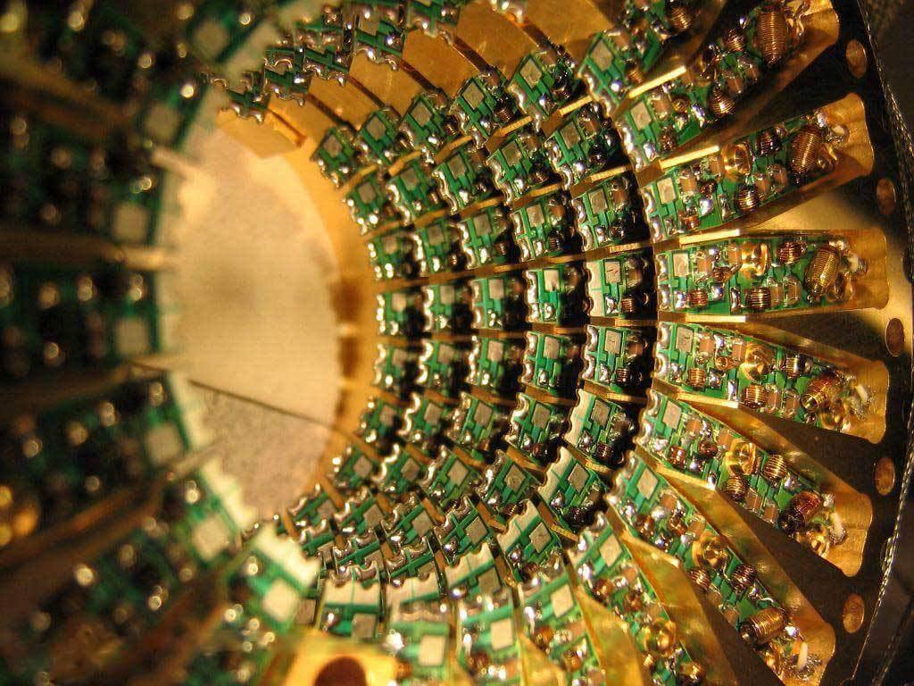 квантовый компьютер фото состав
