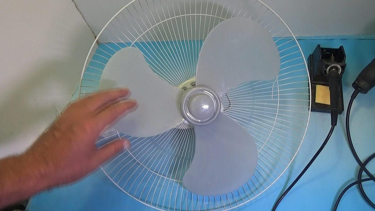 Ремонт напольного вентилятор своими руками