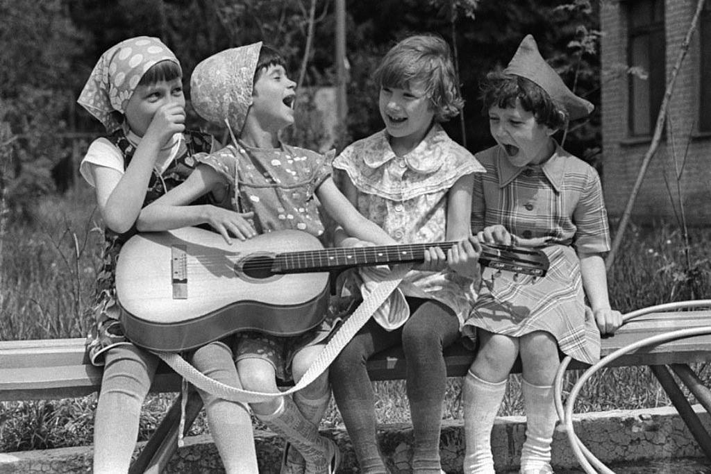 Веселые картинки 70-е годы, бабушек внуками