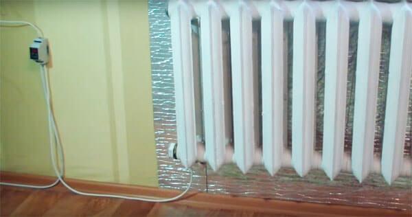 Электрообогреватель из радиатора своими руками 3834