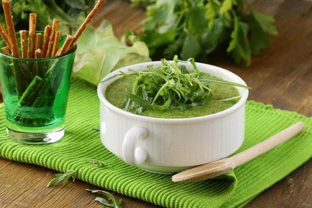 Суп с руколой рецепты с фото