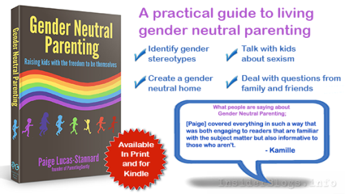 gender neutral book poster