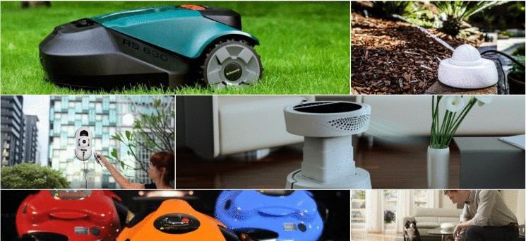 10 роботов для весенней уборки