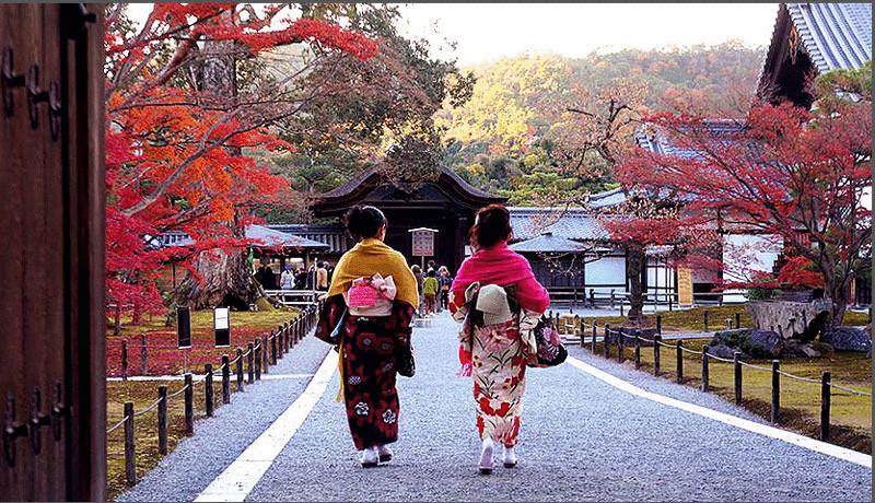 Киото: город, который прячется
