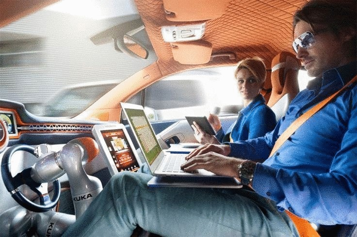 Электромобилю BMW i3 не нужен водитель