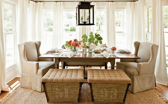 Интерьер столовой в фермерском стиле от Historical Concepts