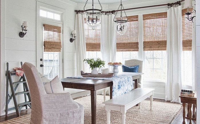 Интерьер столовой от Milk & Honey Home Design