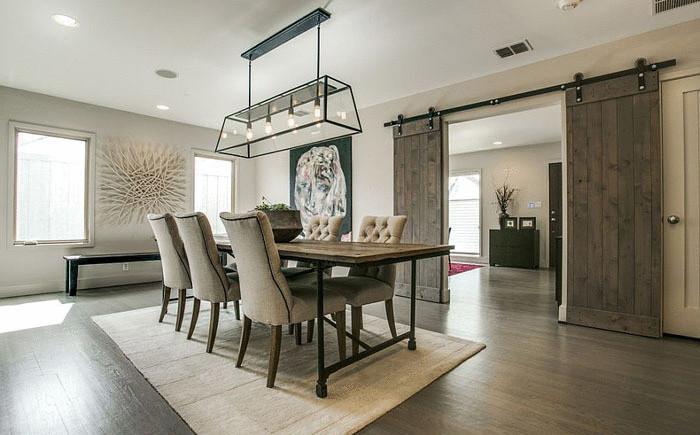 Элегантная столовая от  Olsen Studios