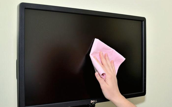 Чем вытирать монитор