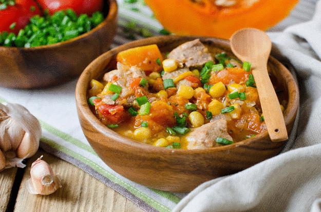 Пять вкусных ужинов для вегетарианцев - тыквенный суп
