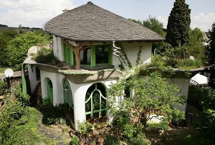 Дом из глины— чем проще, тем лучше