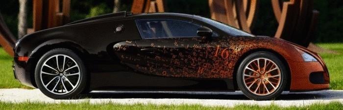 Такие разные Bugatti.